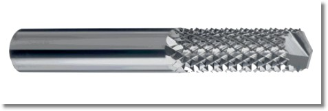 Solid carbide Aludrill milling cutter