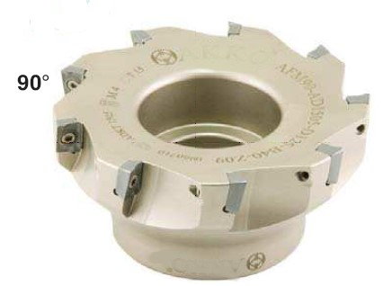 shoulder milling cutter 90° AFM90-AD... for inserts AD.. 1505