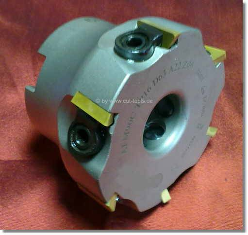 Face milling cutter 90° for inserts TPUN 16