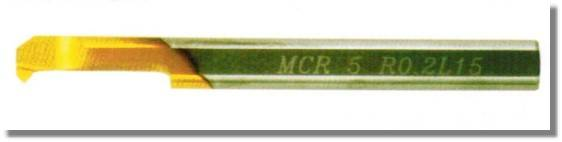 MCR - Solid carbide Mini turning-tool MCR for Chamfering and Bor
