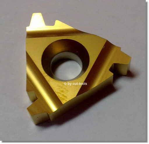 Thread Turning Inserts for Trapezoidal Coarse Thread DIN 103